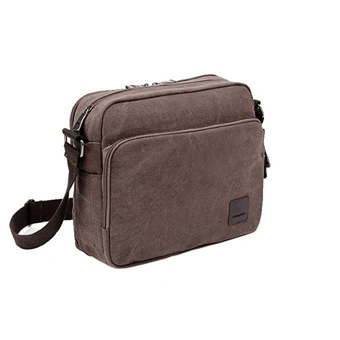 fe069c361a Image Unavailable. Image not available for. Color  Multifunctional Cotton Canvas  Messenger Bag with Cross ...