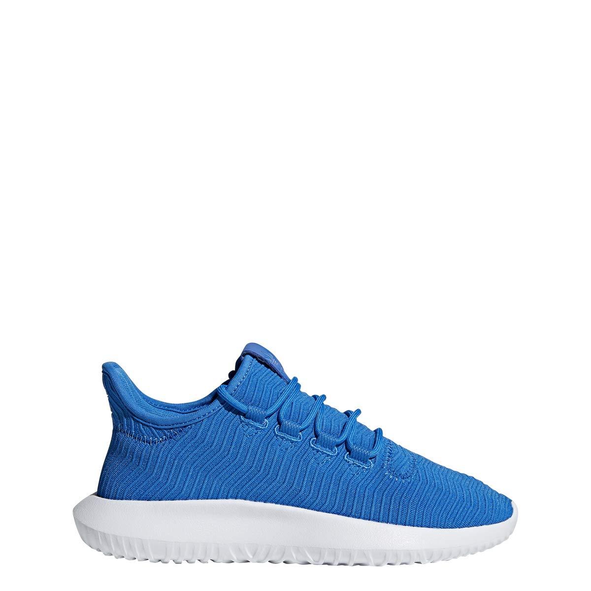 adidas Originals Unisex Tubular Shadow Running Shoe, Bluebird, 4.5 M US Big Kid