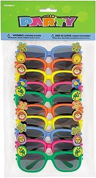 Standard Size Black//Gold amscan 250024-55 Glasses Dollar Signs Tinted Funshades