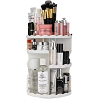 Jerrybox 360-Degree Rotating Makeup Organizer with Compact Size