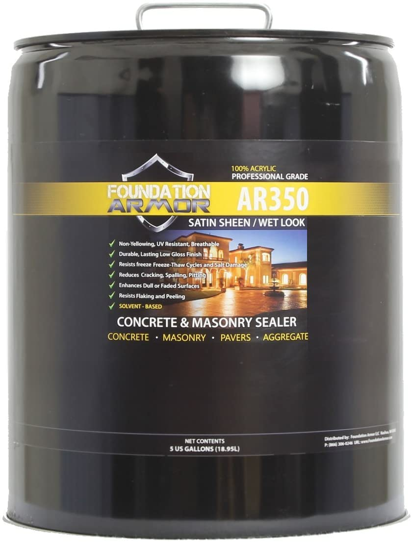 Foundation Armour AR350 solvent
