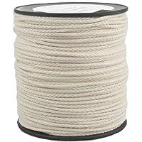 Corde Cordage en Coton 2mm 100m Blanc Crème tressé