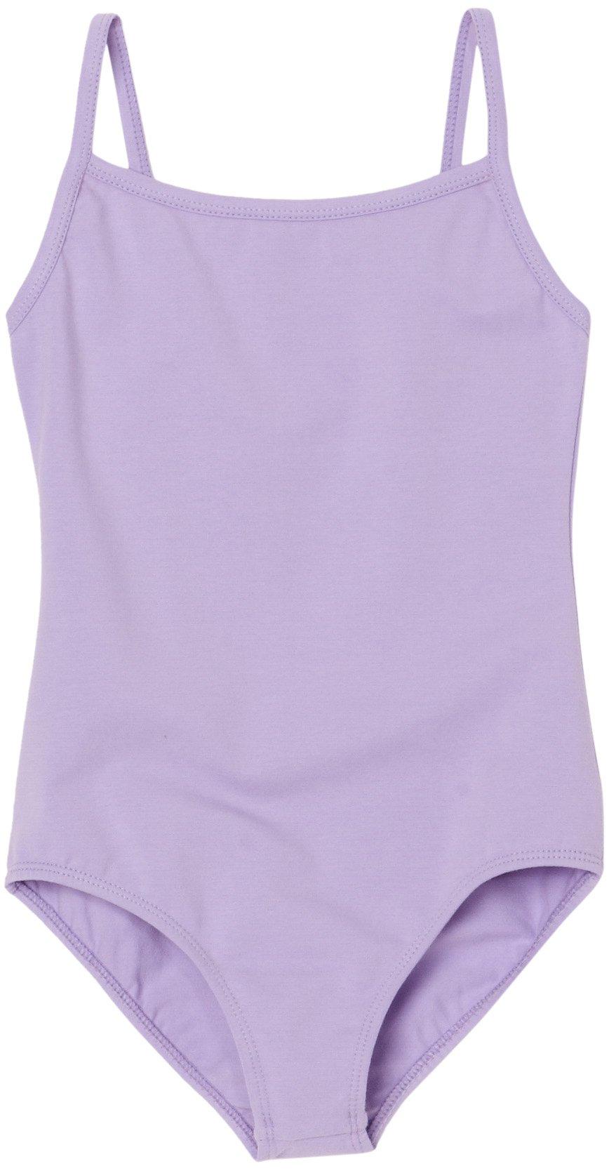 Sansha Little Girls' Stacie Camisole Leotard, Lavender, Toddler 2-4
