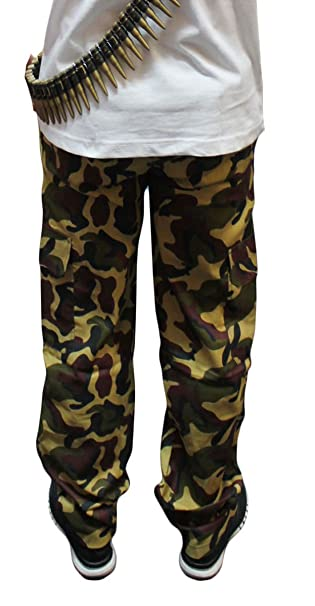 Children Kids Camouflage Trousers Camouflage Military Army Cargo Armed Forces Pants Age 5-13 Years