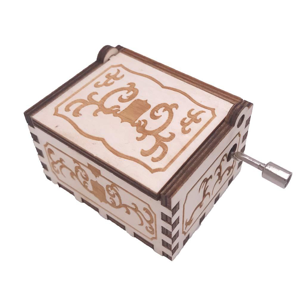 Amazon.com: Dragon Ball Music Box Hand Crank Musical Box Carved Wood Musical Gifts,Play Dragon Ball Z-Tapion Theme: Home & Kitchen