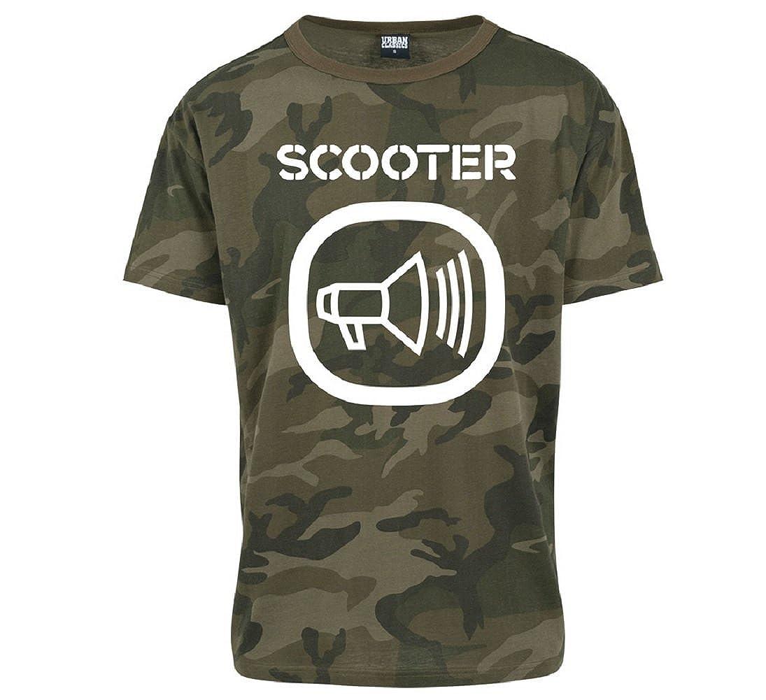 Camo Logo T-Shirt Scooter