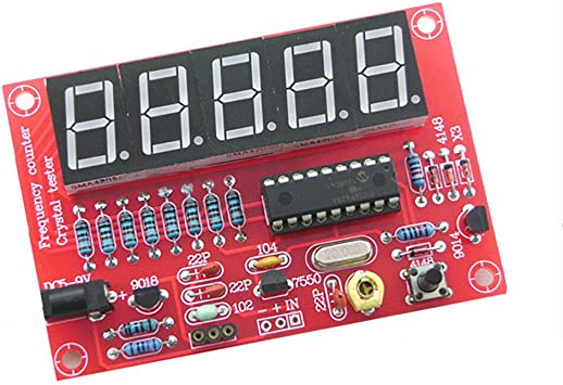 Frequency Meter Kit 1-50MHz Oscillator Measurement Precision Resolution New