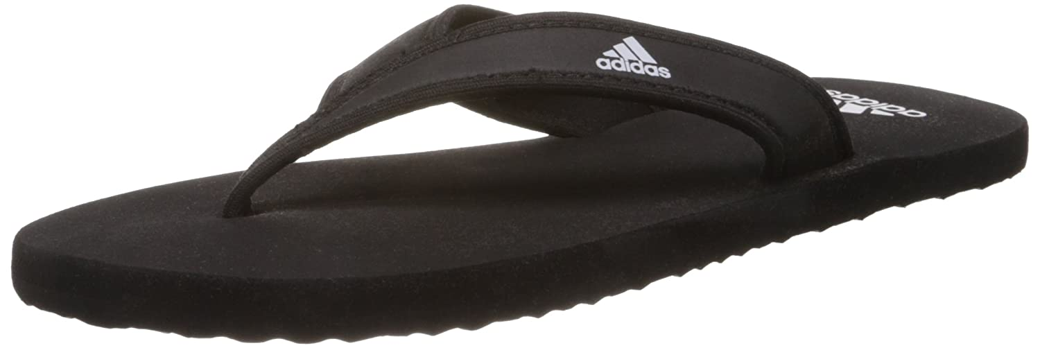 238c9bb541fb Adidas Men s Adi Rio Black and White Flip-Flops and House Slippers - 5  UK India (38 EU)  Buy Online at Low Prices in India - Amazon.in