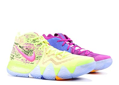 finest selection e71fb e9026 Amazon.com | Nike Kyrie 4 'Confetti' Mens | Basketball
