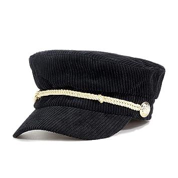 HAOLIEQUAN Visor De Otoño E Invierno Gorros Militares Sombreros para El Sol Sombreros para Mujeres Sombreros