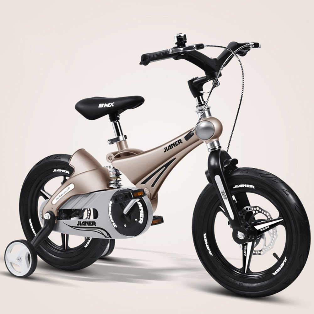 YANGFEI 子ども用自転車 子供用バイク、ベビーカー、マウンテンバイク、自転車、子供用自転車、自転車(サイズ:87 * 50 * 38cm) 212歳 B07DWV4KVV 14Inch|金属 きんぞく 金属 きんぞく 14Inch