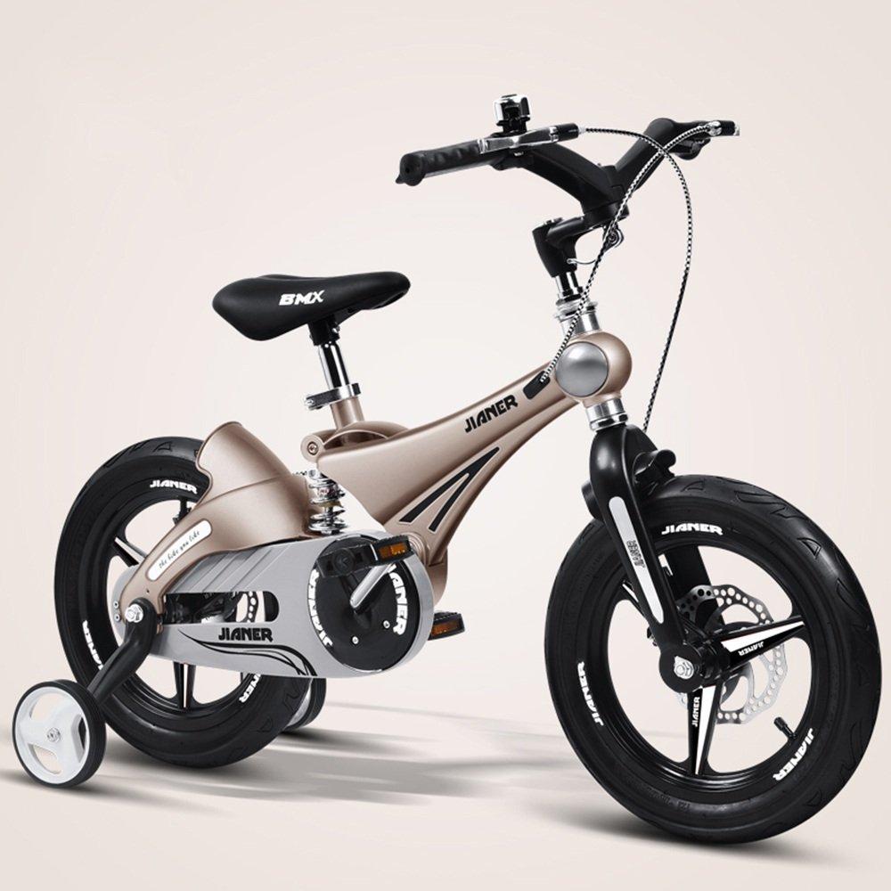 HAIZHEN マウンテンバイク 子供用バイク、ベビーカー、マウンテンバイク、自転車、子供用自転車、自転車(サイズ:87 * 50 * 38cm) 新生児 B07CCHRHS5 14Inch|金属 きんぞく 金属 きんぞく 14Inch
