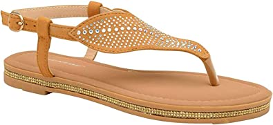 Dunlop Womens Amy Sparkly Strappy
