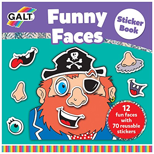 Galt Toys, Funny Faces Sticker Book
