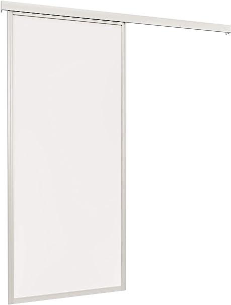 Puerta corrediza Puerta de madera puerta corrediza habitaciones 740 x 2035 mm puerta Interior Color Blanco