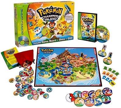 Snap Tv Pokemon Champion Island DVD Board Game: Amazon.es ...