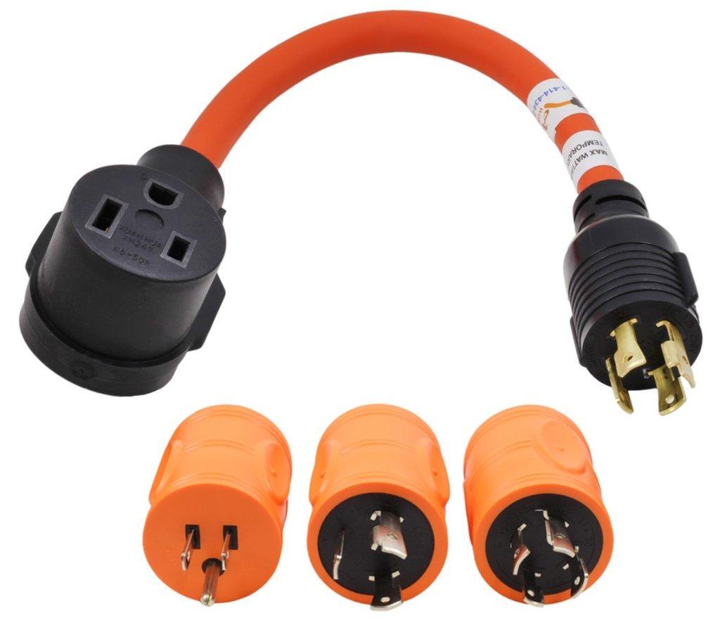 L6-30P 30Amp 250V to 6-50 Welder AC WORKS Welder Adapter