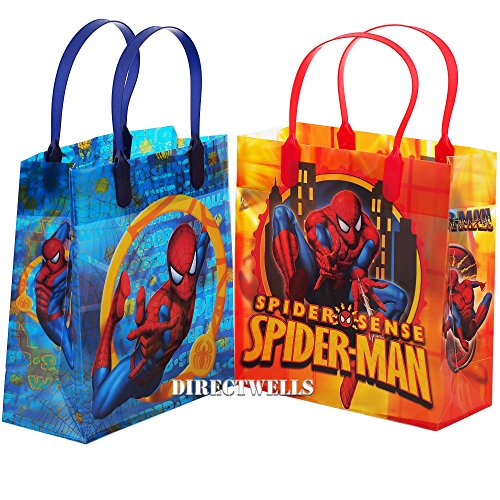 Spiderman Party Favor Goody Gift Bag - 8