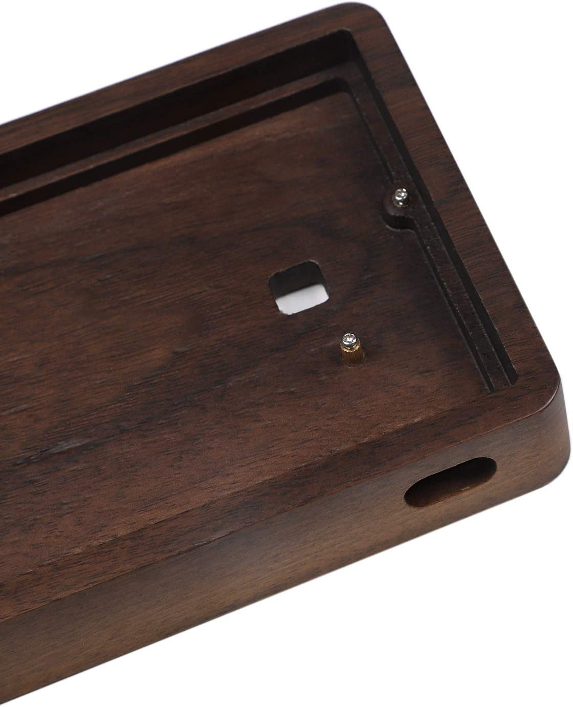 GK64 GK64XS Keyboard kit CNC Wood Wooden Case Bluetooth Wired PCB Plate Stabilizers Walnut Bluetooth PCB