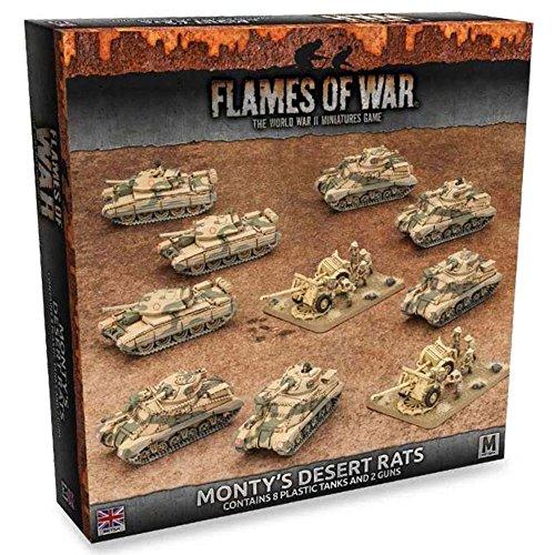 Flames Of War: Monty's Desert Rats by Battlefront