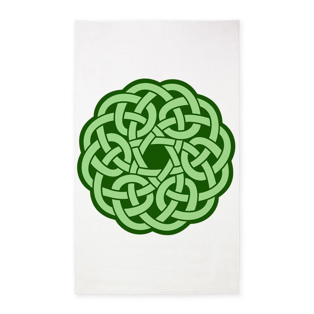 3' x 5' Area Rug Celtic Knot Wreath by Royal Lion