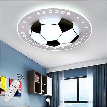 Kinder Fussball Led Deckenleuchte Kinderzimmer Lampe Dimmbar