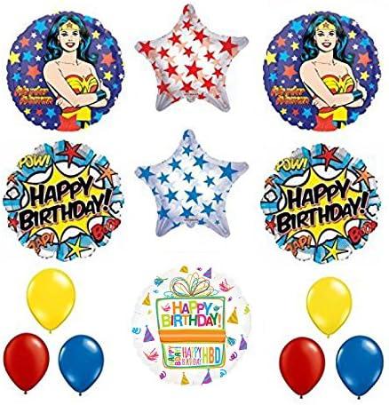 dc comics wonder woman party decor comics 17 WONDERWOMAN balloon wonder woman party wonder woman party balloons dc comic balloons