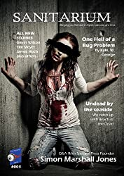 Sanitarium Magazine Issue #3: Bringing you Horror and Dark Fiction, One Case at a Time