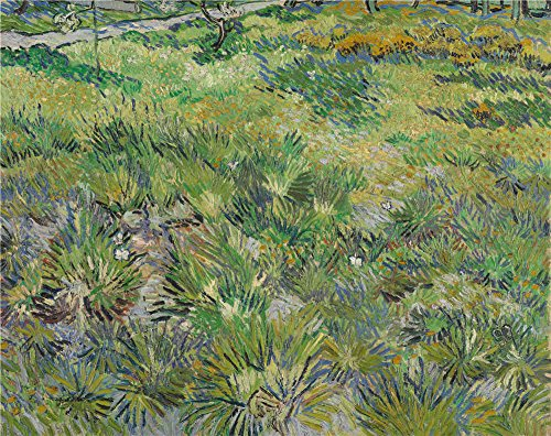 Oil Painting 'Vincent Van Gogh Long Grass With Butterflies ' Printing On High Quality Polyster Canvas , 20 X 25 Inch / 51 X 64 Cm ,the Best Dining Room Gallery Art And Home Decoration And Gifts Is This Beautiful Art Decorative Prints On Canvas