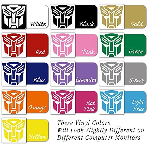 TR-01 Autobot Transformers Mask Vinyl Decal Sticker