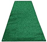 Outdoor Turf Wedding Aisle Runner - Green - 4' x 20' - Many Other Sizes to Choose From
