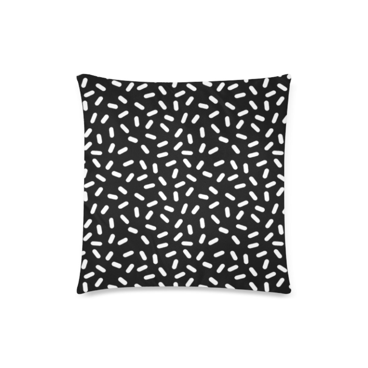Custom Bingo Black And White Cushion Cases Zippered Throw Pillow Covers 18 by 18 Inches by BEAYCUSHIONS