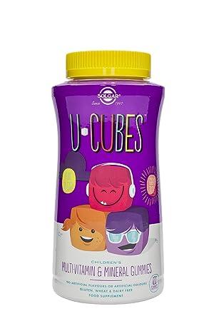 Solgar U-Cubes Vitaminas y Minerales - 120 Unidades: Amazon.es: Salud y cuidado personal