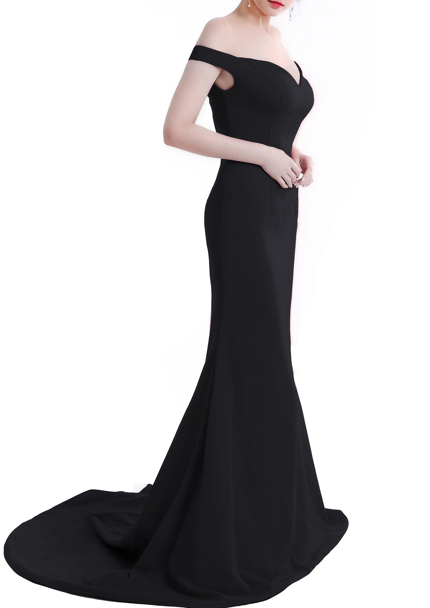Long Black Gown: Amazon.com