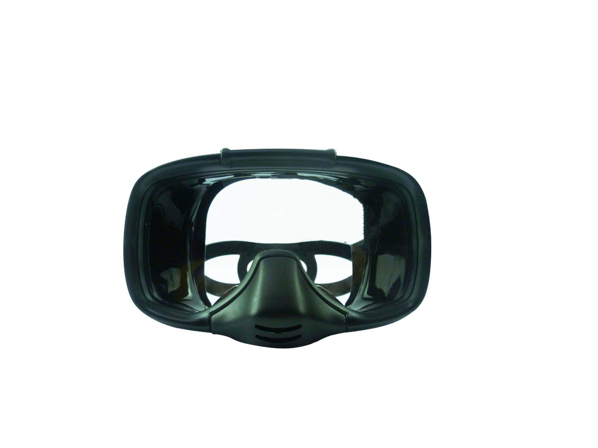 Fly-Town Diving Mask Diving Glasses Full Face Diving Mask Underwater Hunting Snorkeling Swimming,Black by Fly-Town