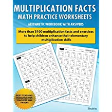 Multiplication Facts Math Worksheet Practice Arithmetic Workbook With Answers: Daily Practice guide for elementary students