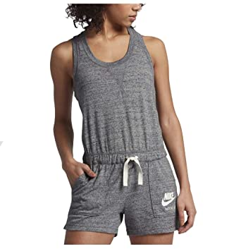 8df1bf8669d Nike Womens Sport Vintage Romper at Amazon Women s Clothing store