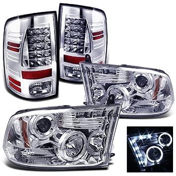 rxmotoring 2009–2011 Dodge Ram 1500 Scheinwerfer Projektor + ...