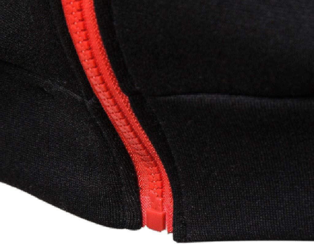 Rikay Mens Plain Hoodie Gym Sports Workwear Jacket Joggers Hoody Sweatshirt Blouse 4 Colors Size M-3XL