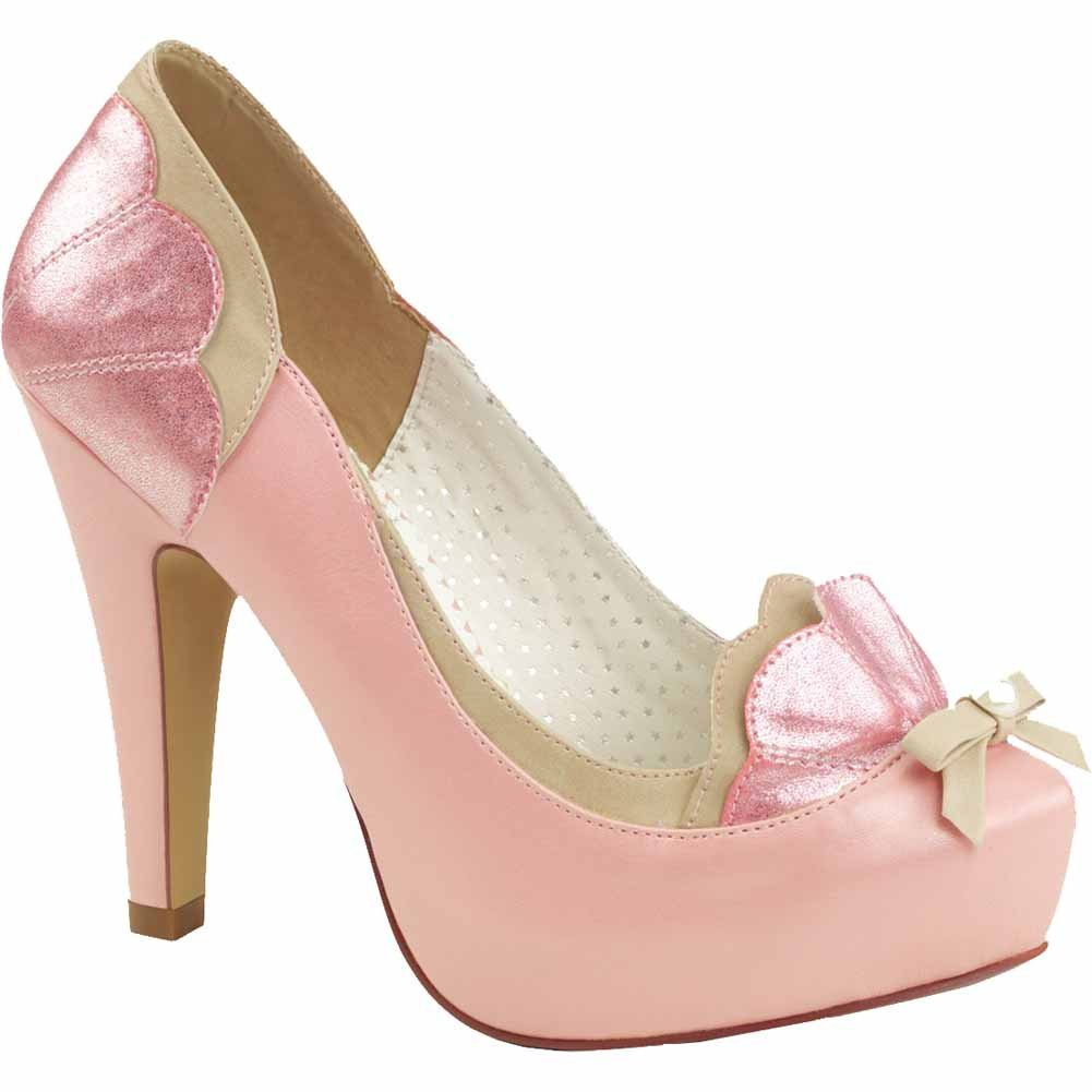 Pin Up Couture Womens Bettie-20 Platform Sandal
