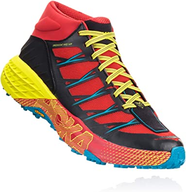 Hoka One M Speedgoat Mid Waterproof, Zapatillas de Hombre de Trail Running Mid Rojo Size: 42 EU: Amazon.es: Zapatos y complementos