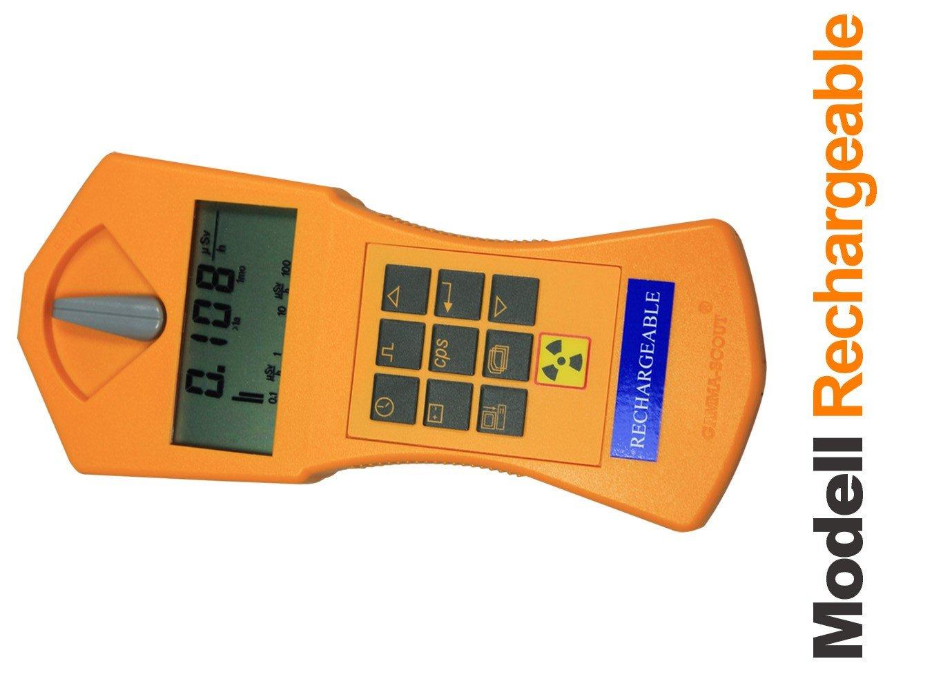 Gamma-Scout/® Compteur Geiger rechargeable