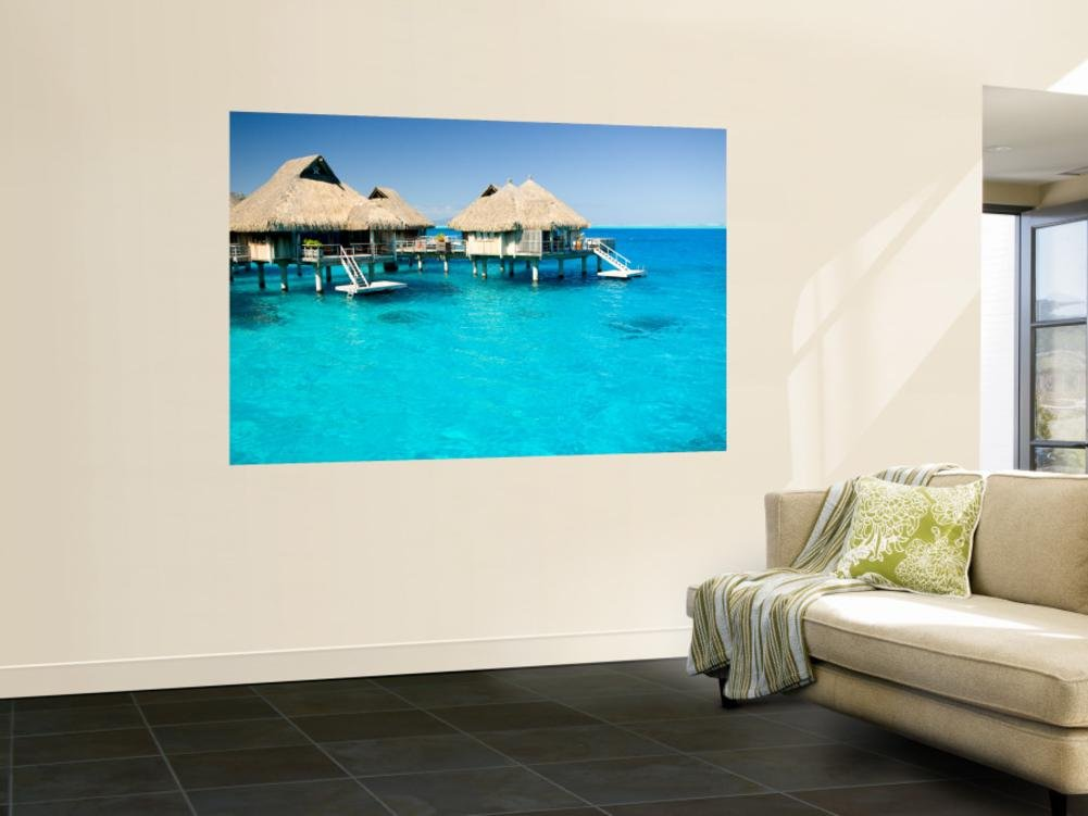 Bora Bora Nui Resort and Spa, Bora Bora, Society Islands, French Polynesia Wall Mural 48 x 72in