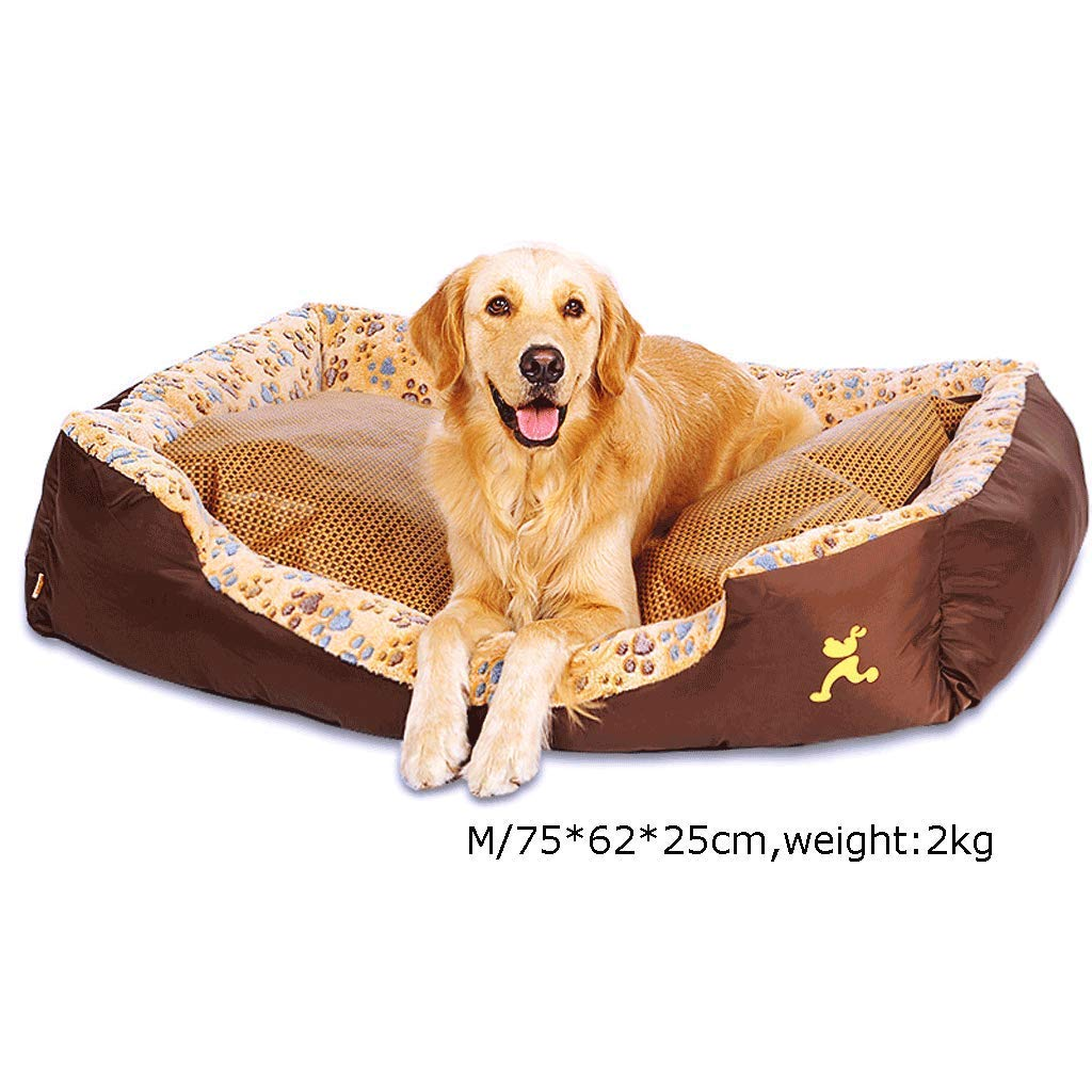 Xl YEXIN Square Kennel Removable And Washable Pet Nest Medium Large Dog Bed Dog Pad Four Seasons Universal (Size   Xl)