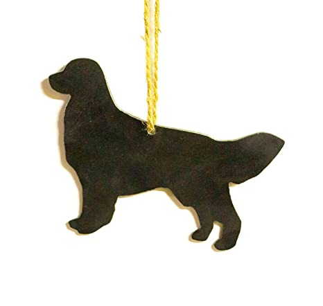 German Shepherd Dog Metal Christmas Ornament Tree Stocking Stuffer Party Favor H