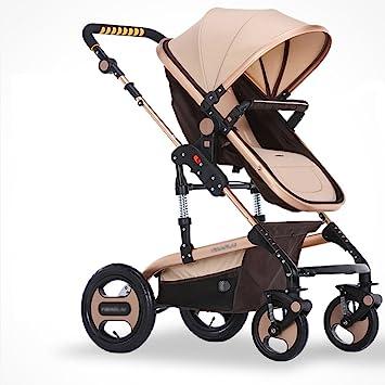 Carro de bebé Niño La carretilla del bebé puede estar sentando el choque de cuatro ruedas