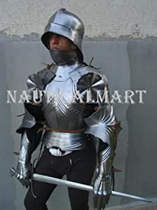 NauticalMart German Gothic Half Suit of Armor Medieval Knight Armor