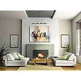 Acrylbild / Gemälde - Skyline von New York - Martin Klein - Modern Art - Moderne Gemälde - Acrylbilder Kaufen - Wandbilder Kaufen