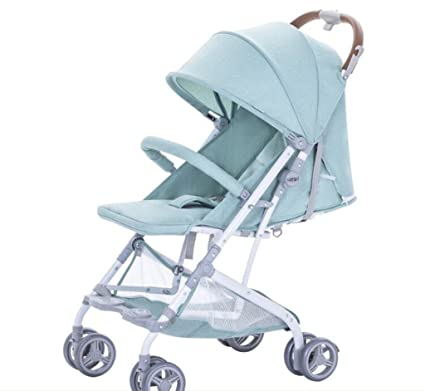 &Carrito de bebé Ultra Ligero cochecito de bebé portátil paraguas de aluminio amortiguador de choque Baby