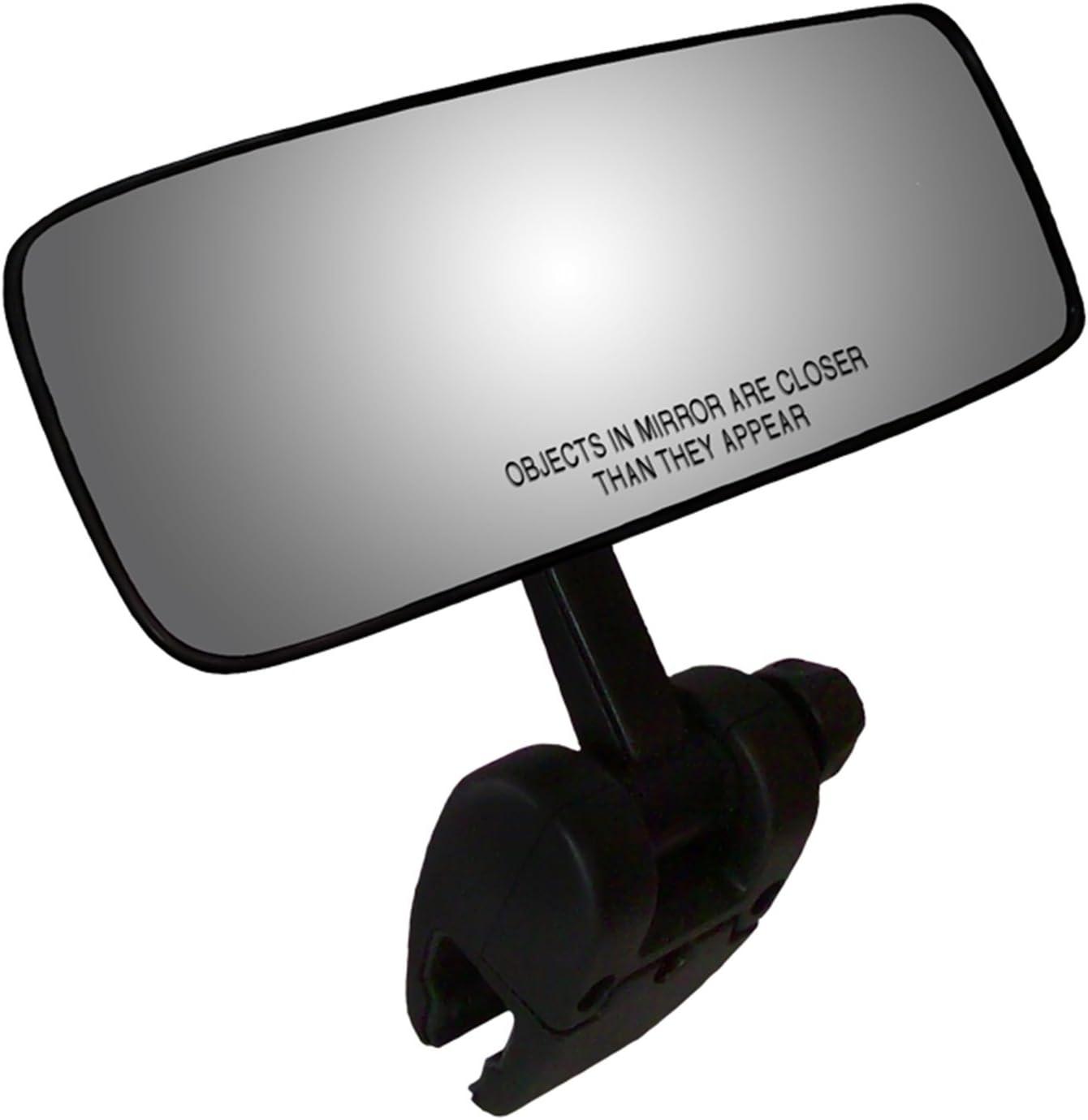 "CIPA 11083 COMP II Black 4"" x 11"" Marine Mirror"